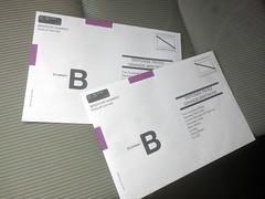 Absentee ballots for UK EU referendum, Burbank, California, USA