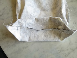 Iron Craft '16 Challenge #9 - Drawstring Project Bag
