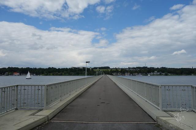 Fußgänger & Radfahrerbrücke über den Möhnesee