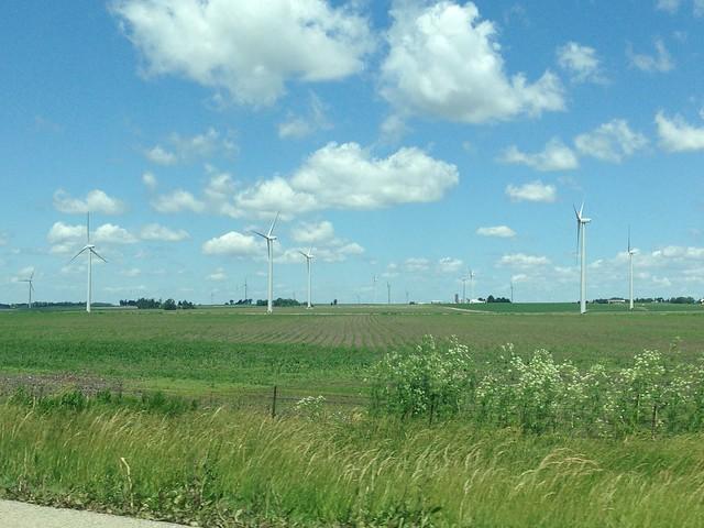 Driving to Iowa
