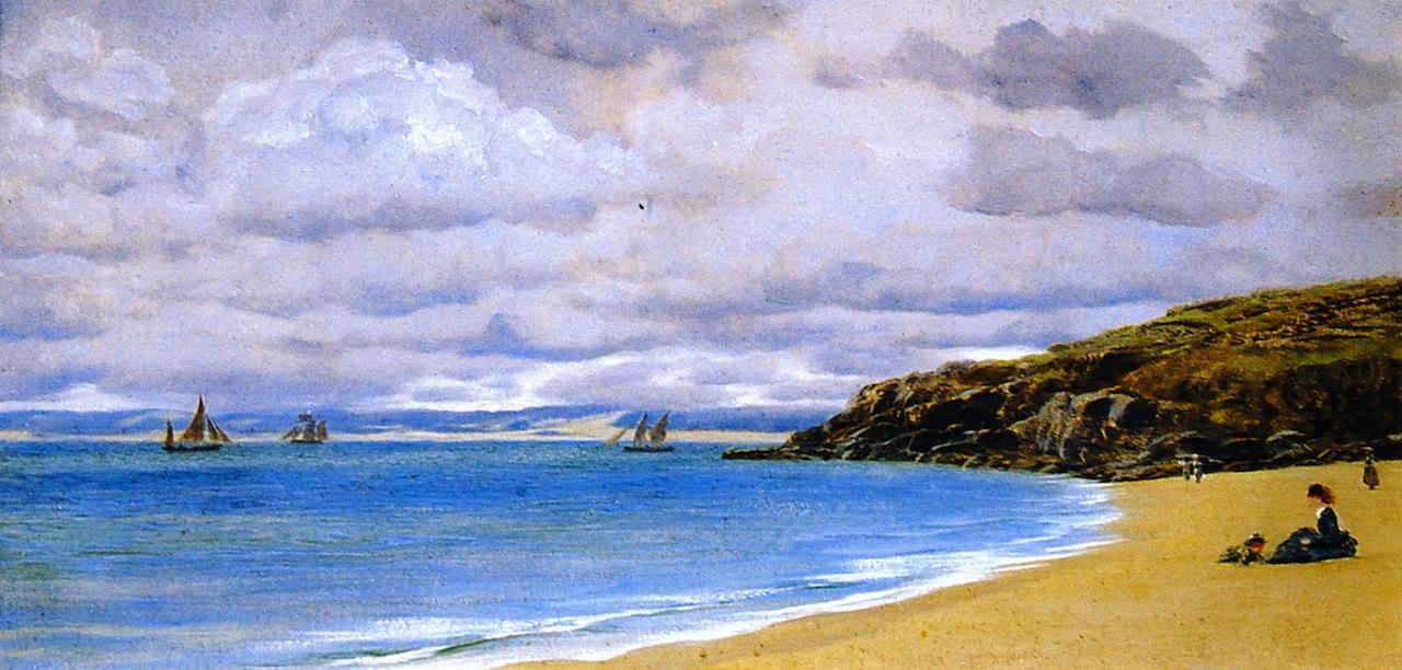 St. Ives by John Edward Brett, A.R.A. - 1872