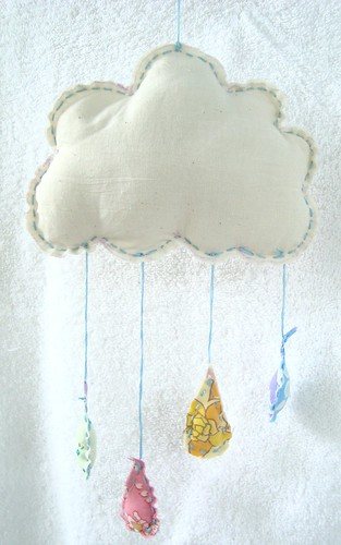 Cloud mobile by WithWhimsy