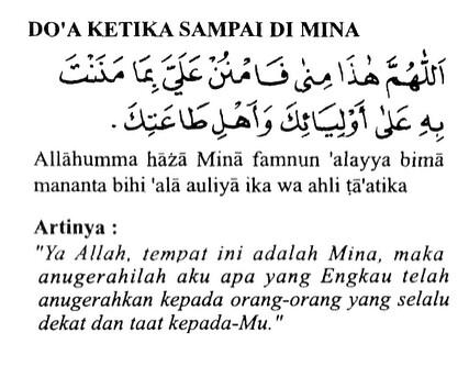 doa,sampai, Mina, haji, umroh