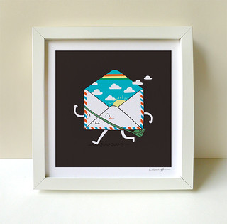 Good News Is On The Way - Art print