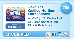 Quilted Northern Ultra Plush Bath Tissue Coupon