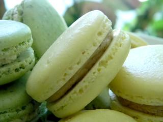 Tamarind Pineapple Macarons