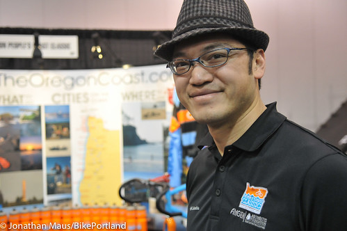 Tai Lee at PDX Bike Show
