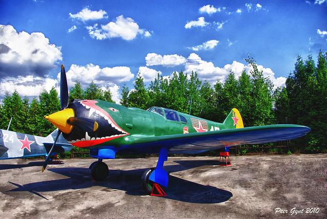 Soviet WWII Fighter Aircraft Lavochkin La-5. 1942. Советский истребитель Лавочкина Ла-5.