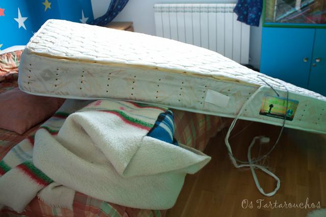 desastre no colchón