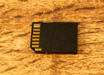 The contacts on memory cards are particularly vulnerable. Protect them.