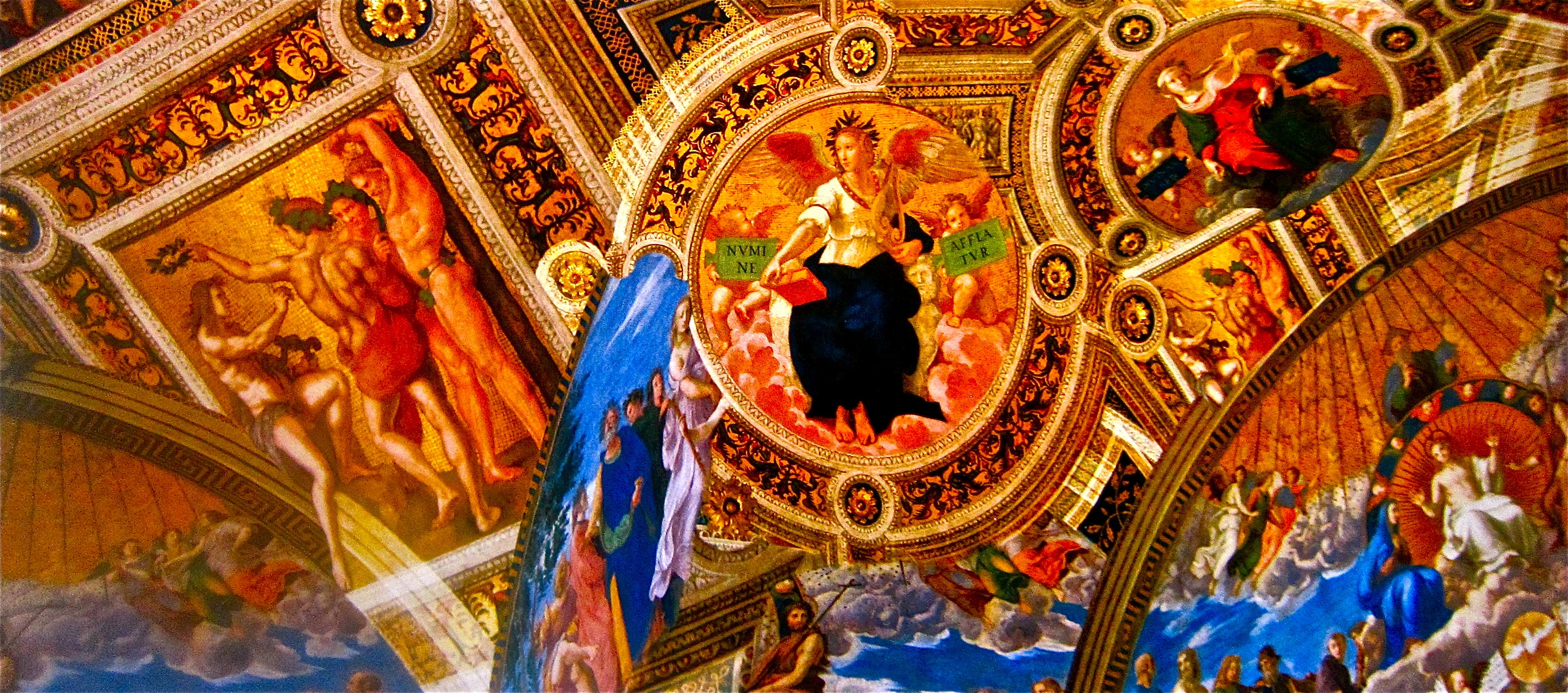 Vatican Ceiling Italy