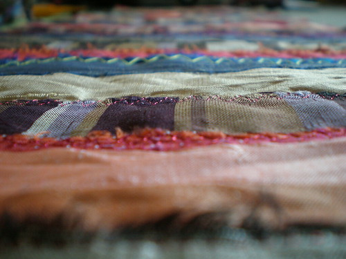 Silk Strip Patchwork