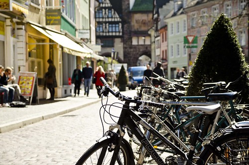 Freiburg bike rack
