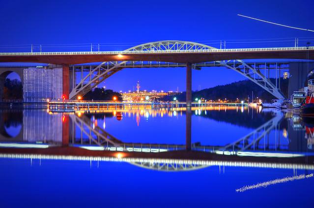The Årsta Bridges