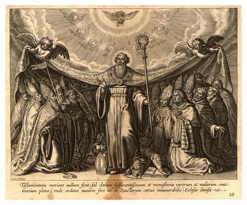 015-Iconographia magni patris Aurelli Augustini…1624-Grabados de Boetius Bolswert- Cortesia de Villanova University