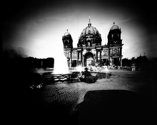 Berlin Cathedral Seen by a Dumpster