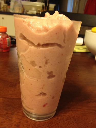 365 Paleo Recipe Project: DAY 11 - Tropical Protein Smoothie
