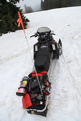 racing(0.0), motorsport(0.0), snow blower(0.0), auto racing(1.0), outdoor power equipment(1.0), winter sport(1.0), vehicle(1.0), sports(1.0), snow(1.0), snowmobile(1.0), land vehicle(1.0),