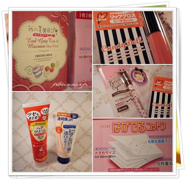 SaSa beauty haul -03-2012