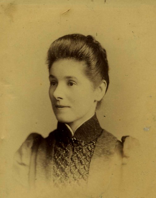 Sarah Elizabeth Ward (nee Poney) c1885. My great-grandmother.