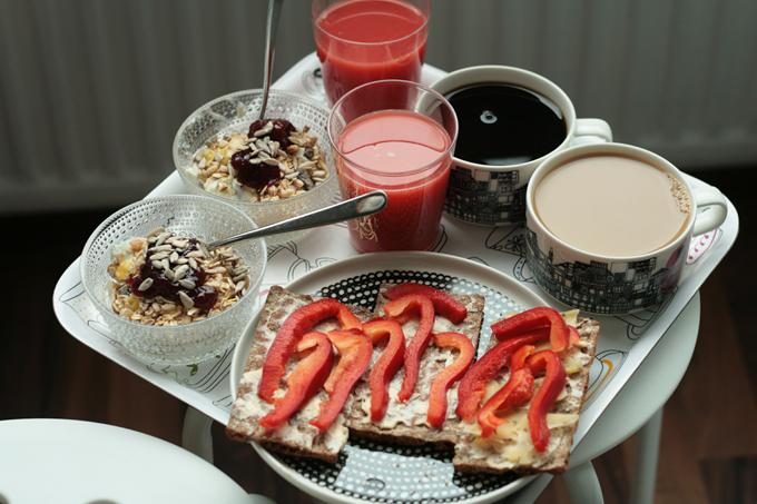 kuninkaallinen aamupala