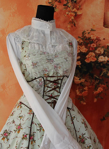 Infanta_Halter_Wrapping_Tape_Lace_Up_Lolita_Dress_4