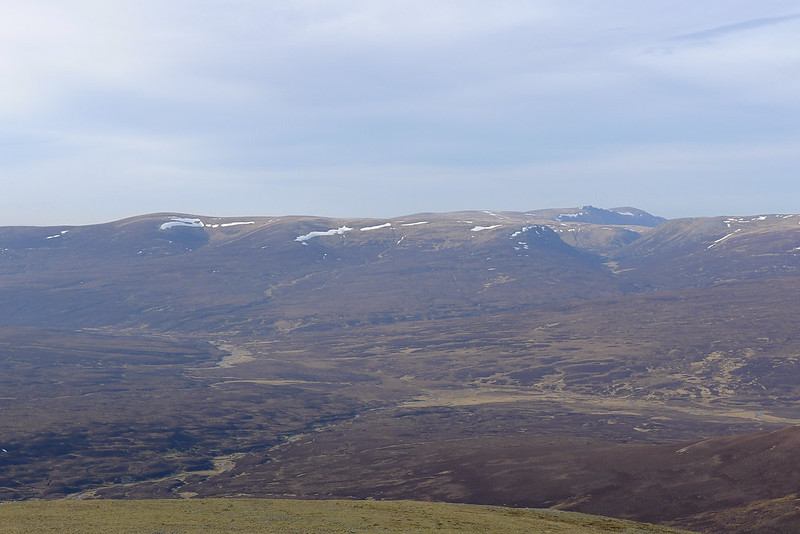 Looking towards the Moine Mor