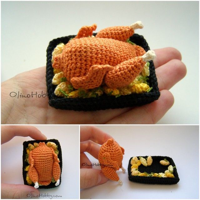 "crochet food ""chicken"""