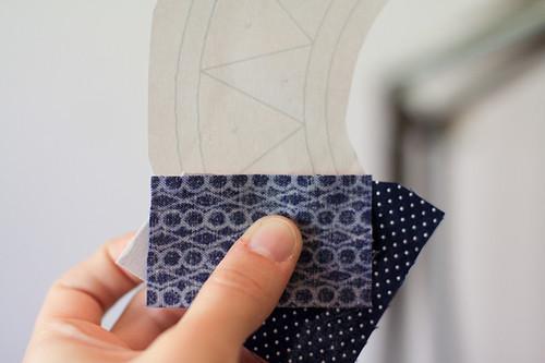 Paper Piecing Tutorial: New York Beauty Block - In Color Order