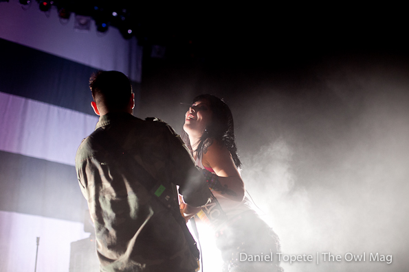 Sleigh Bells @ The Warfield, SF 4/5/12