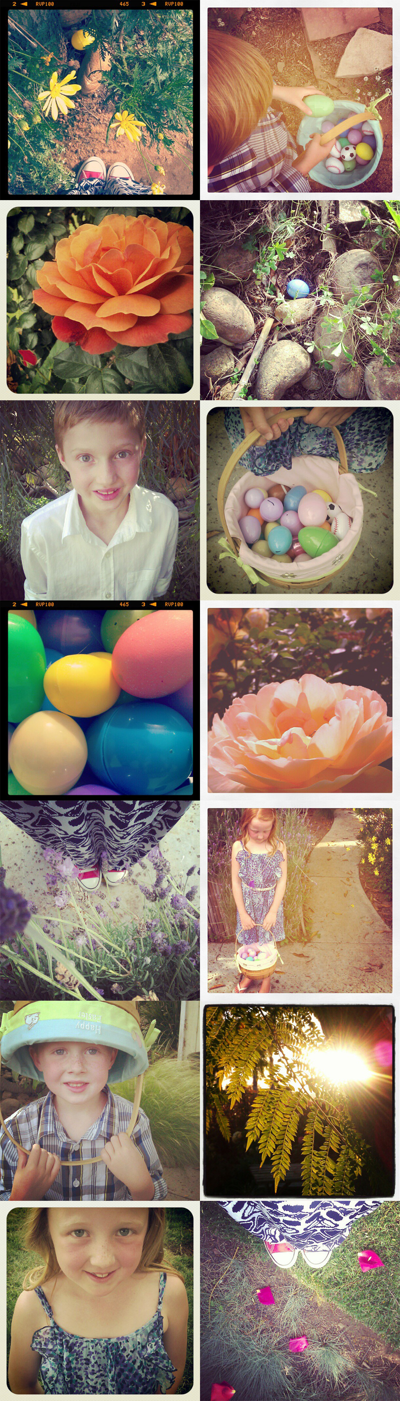 {easter} in instagrams