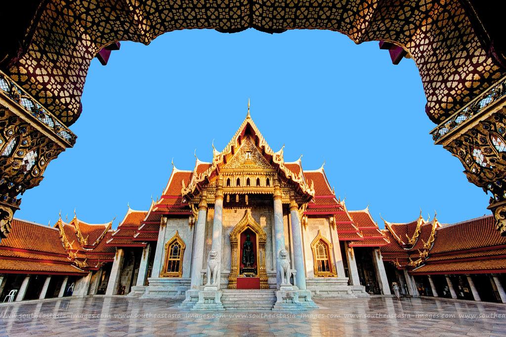 The Marble Temple Wat Benchamabophit Bangkok Wat