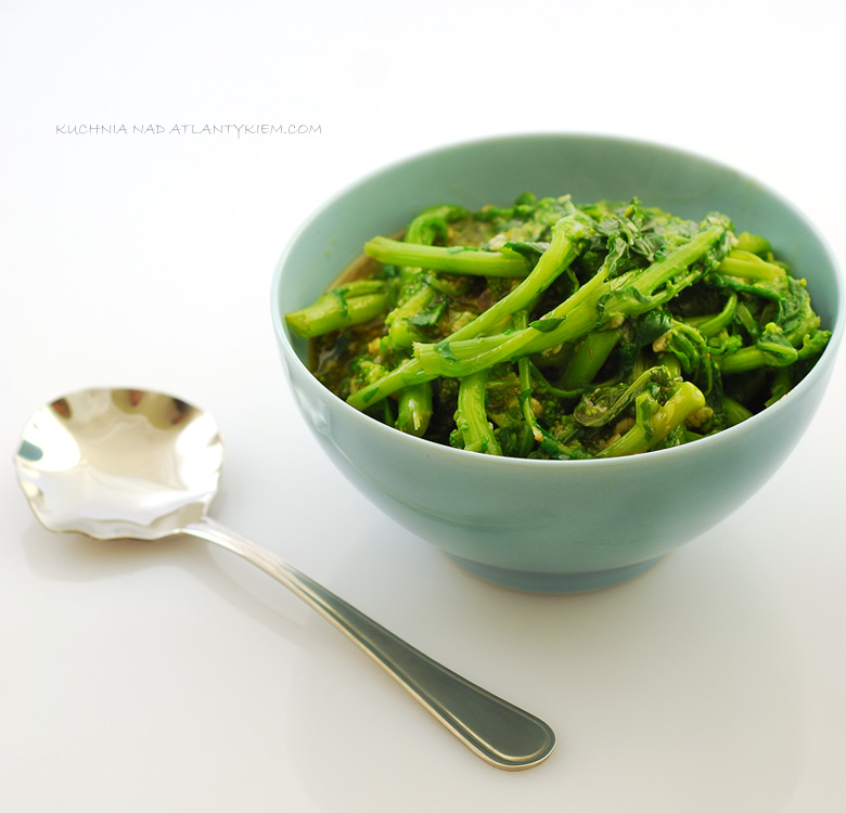 Rapini (also known as Broccoli Rabe )