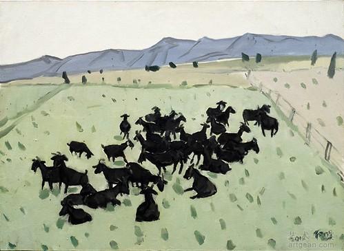唐志冈,《草甸》,布面油画,100x73cm,2011年