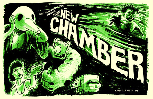 New Chamber forth printing cover by Marc Palm AKA Swellzombie