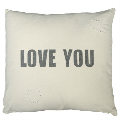 Love You Pillow Sugar Boo design