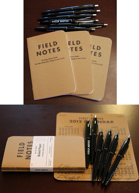Field Notes & Ballpoint RT Pens