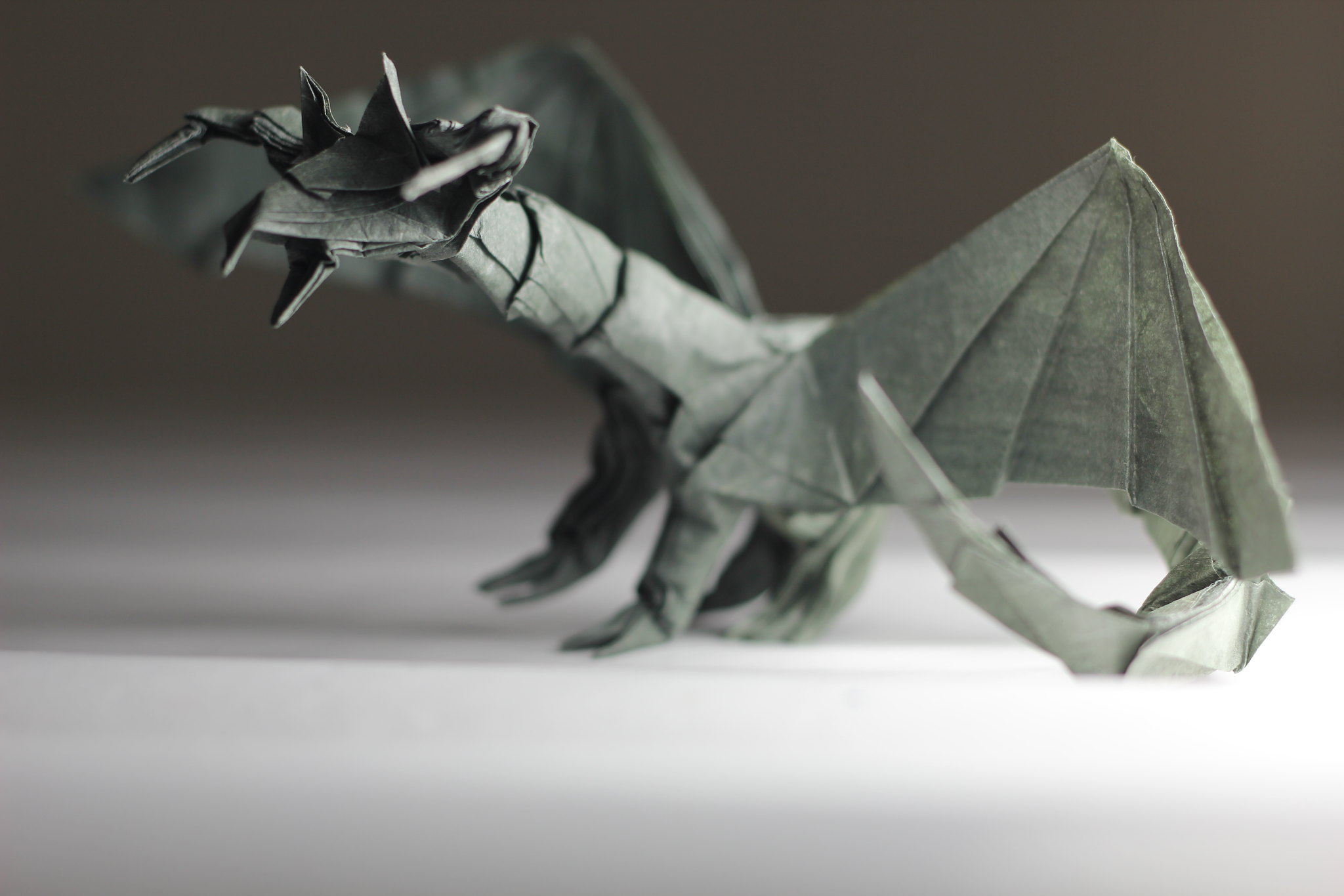 Darkness Dragon | Darkness Dragon Origami Designed by ... - photo#35