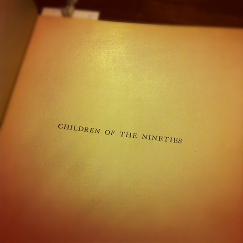 Children of the Nineties.