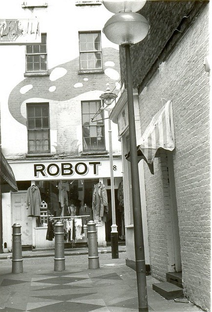 ROBOT clothes shop, London 1979