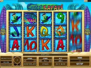 Surf Safari slot game online review