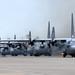 Small photo of C-130 Hercules fly during Samurai Surge