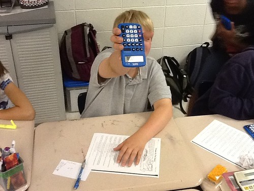 Calculator activities
