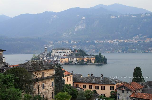 Immagine Lago d'Orta con Isola San Giulio