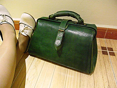 doctor bag verde marruecos