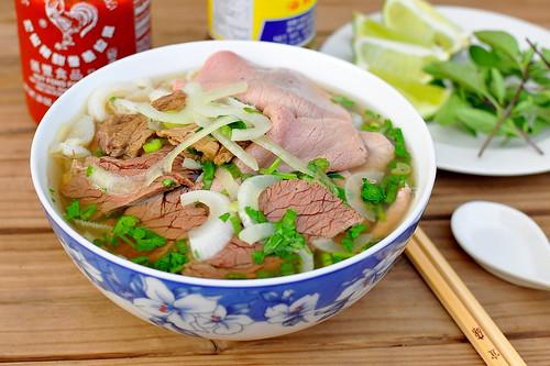 Pho Bo - Vietnamese Beef Noodle Soup