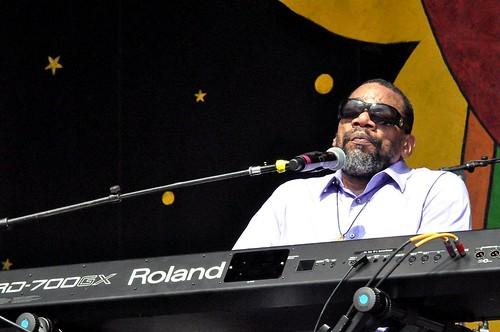 Henry Butler at Jazz Fest. Photo Kichea S Burt.
