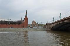 Depuis la rive de la Moskova