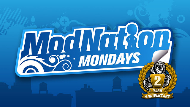 ModNation Monday Header Anniv