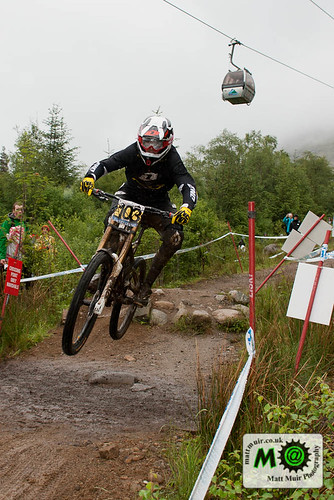 Photo ID 59 - 103  Dan  ATHERTON  -  GT FACTORY RACING, Downhill Finals, Fort William MTB World Cup 2012 by mattmuir.co.uk
